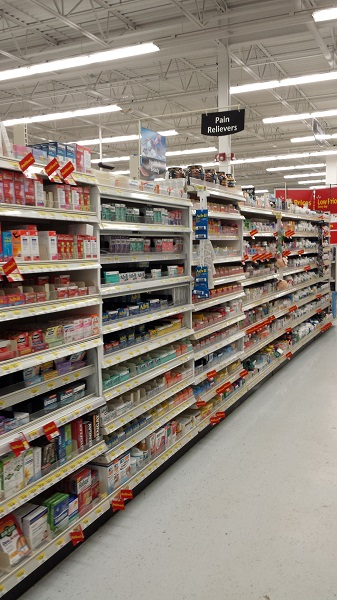 Аптека в Walmart