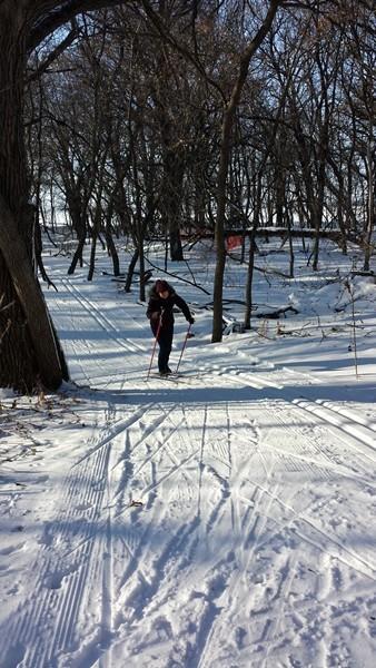 Первые ощущения от лыж