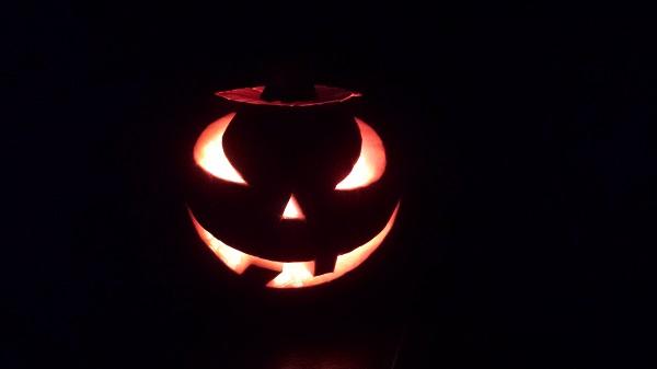 Моя первая тыква для Halloween 4