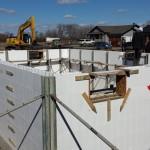 Вторая неделя строительства