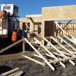 Пятая неделя строительства дома