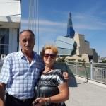 Приключение родителей в Канаде