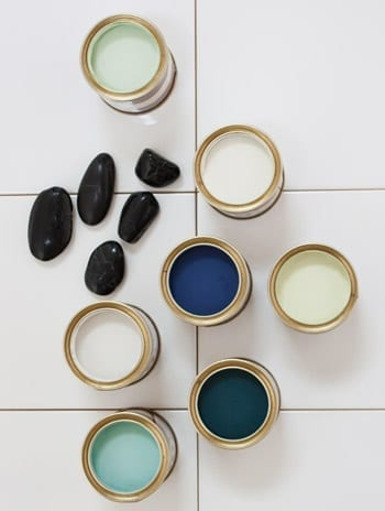 paint colours from Farrow and Ball