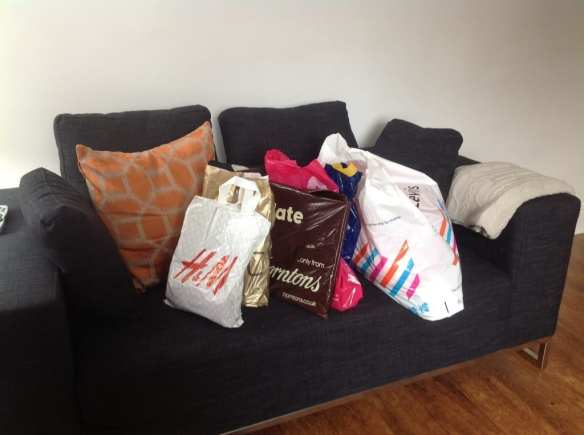 shopping for the British Gas bloggers challenge