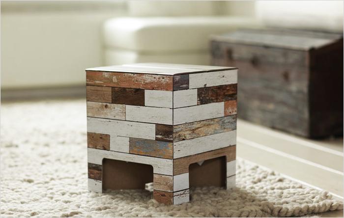 contemporary cardboard chair