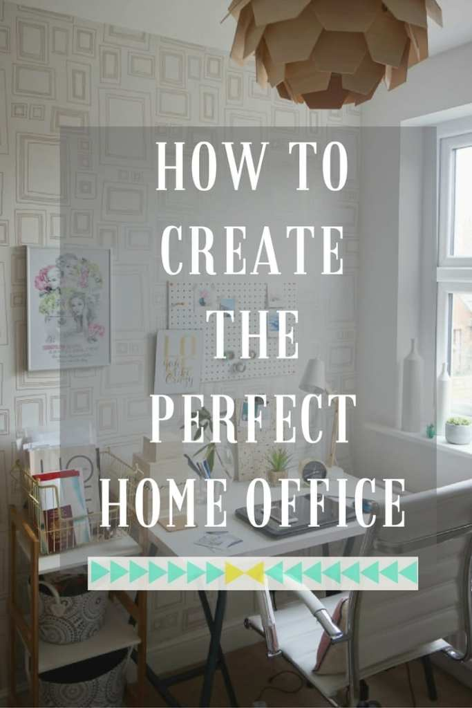 Many of us don't have the room in our homes to create a separate home office or have a dedicated study and so it's important to be really clever with how you use your space. Here are my top tips for creating the perfect home office.