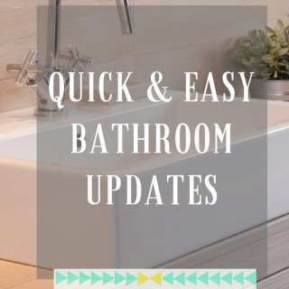 Home Makeovers: Top Bathroom Quick Fixes