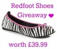 Win a Pair of Redfoot Shoes worth upto £39.99