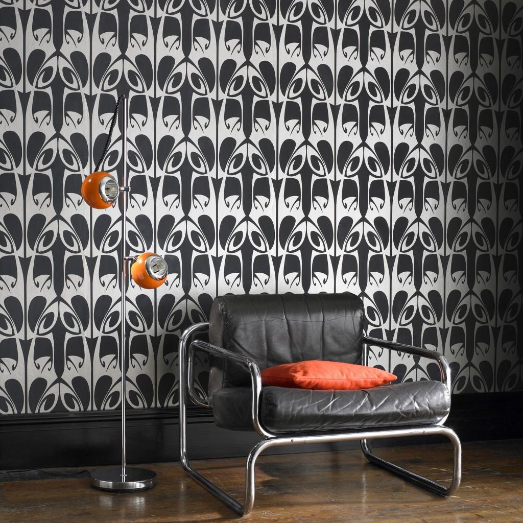 monochrome wallpaper trends