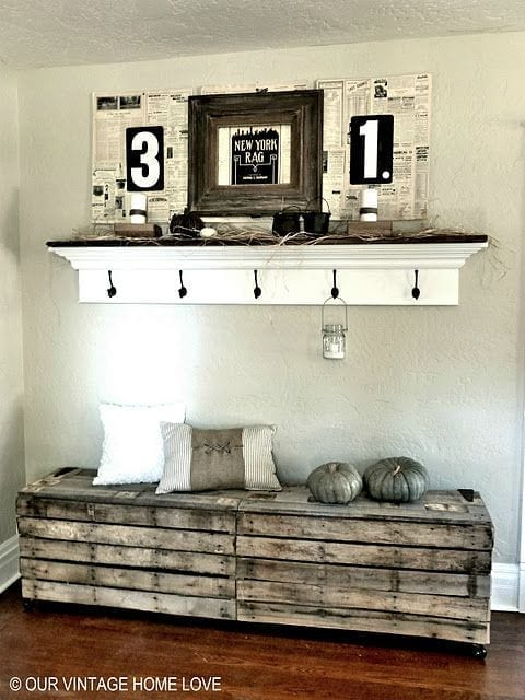 Upcycling Interiors 10 Top Pallet Ideas Love Chic Living