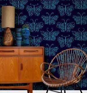 Wallpaper Wednesday: Camberwell Beauty from Mini Moderns