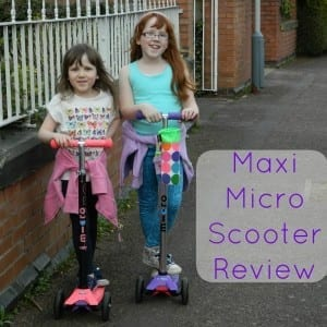 maxi micro scooter blog review