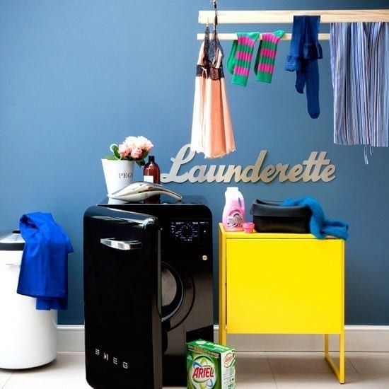 how to create a stylish utility room