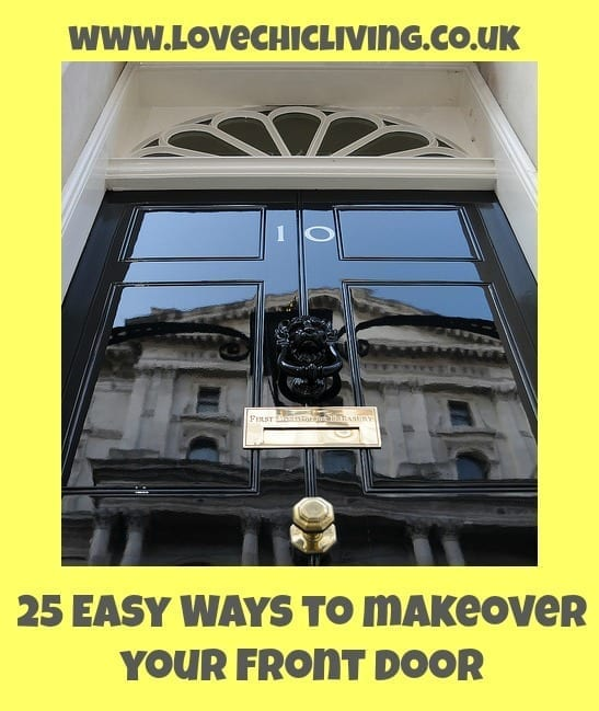 how to update your front door