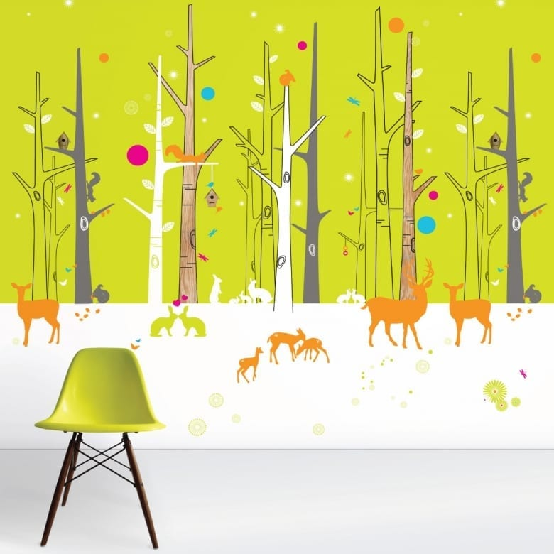 cool bespoke wallpaper for kids
