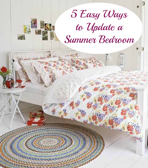 easy ideas for a summer bedroom