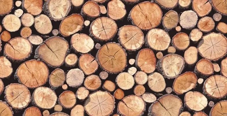 logs wallpaper