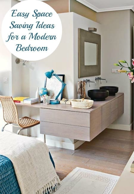 making the most of a small bedroom - interior design