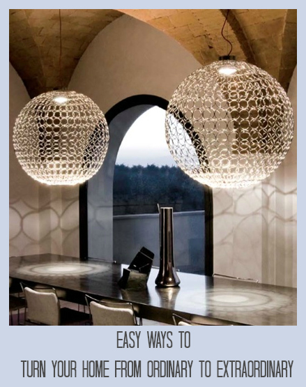 Some great ideas to add a touch of class to your home