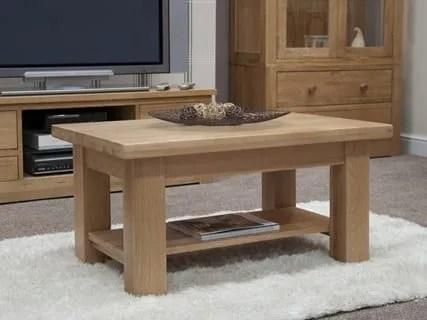 Neuvo Oak Coffee Table