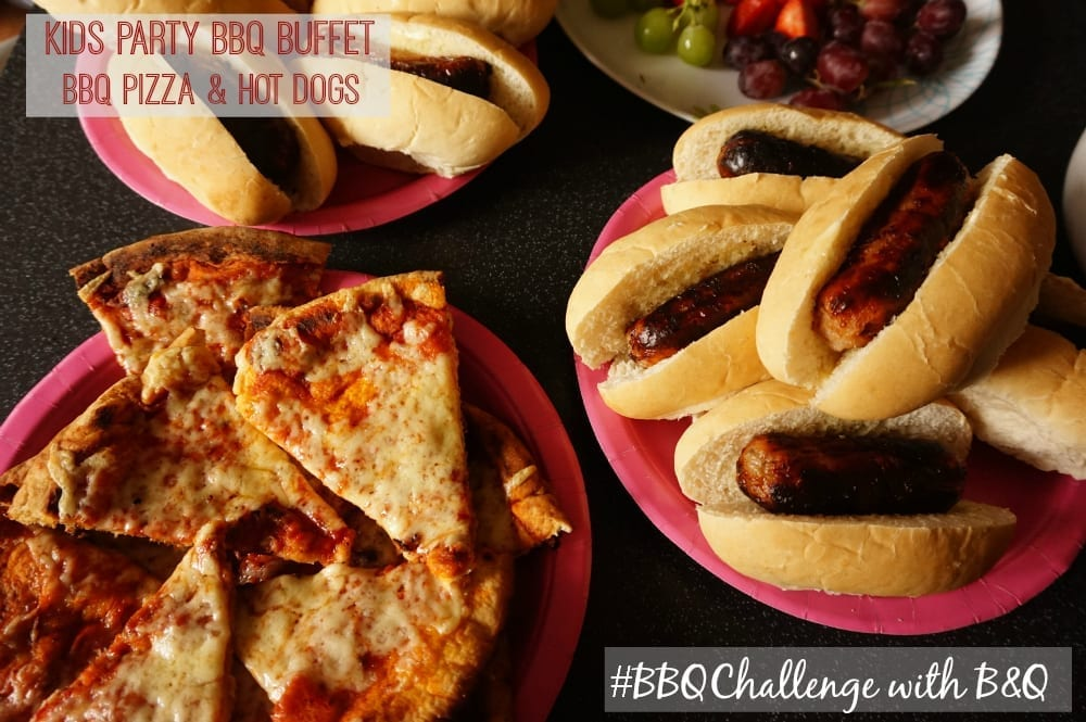BBQ challenge pizza and kids party
