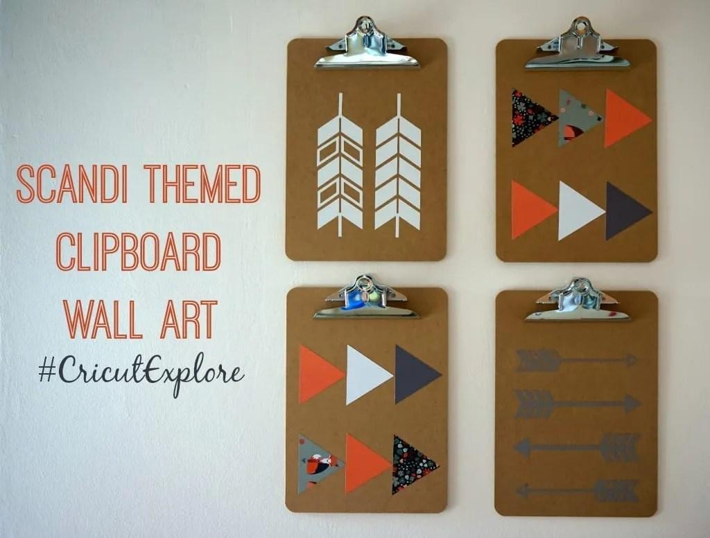Clipboard Wall Art