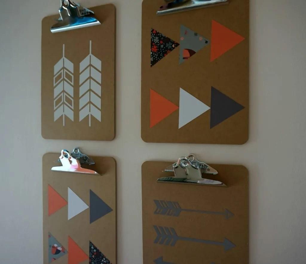 Scandi clipboards