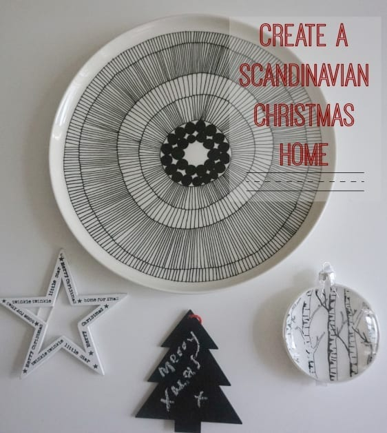Create the Scandi look in your home this Christmas
