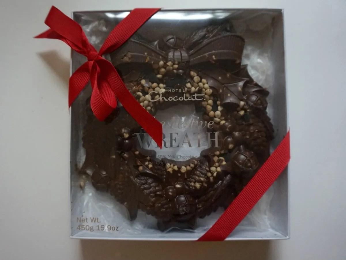 Hotel Chocolat wreath