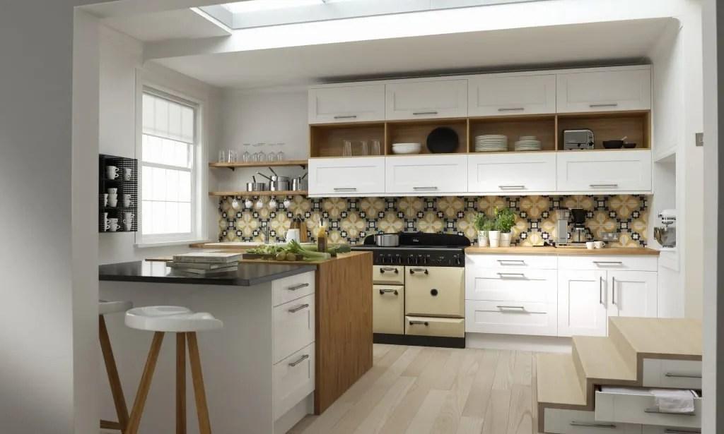 Shaker Kitchen in super white