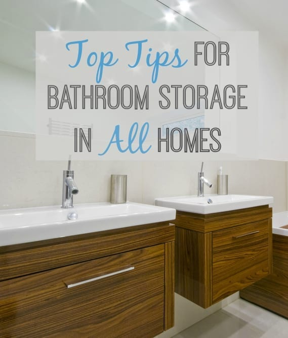 Top Idea and Suggestions for great Bathroom Storage in any size home
