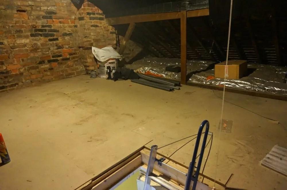 Empty attic #projectattic