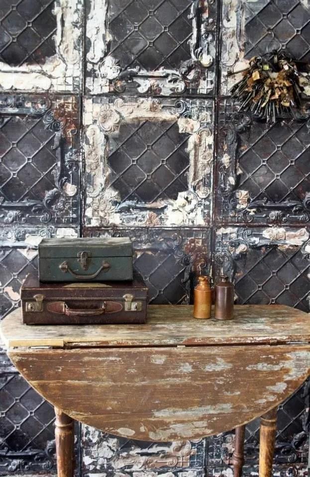 wallpaper wednesday brooklyn tin tiles from rockett st