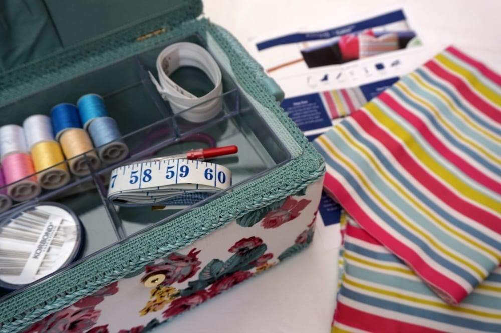 Sewing kit giveaway prize