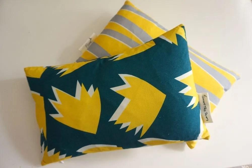 Sunny Toddy Prints cushion design
