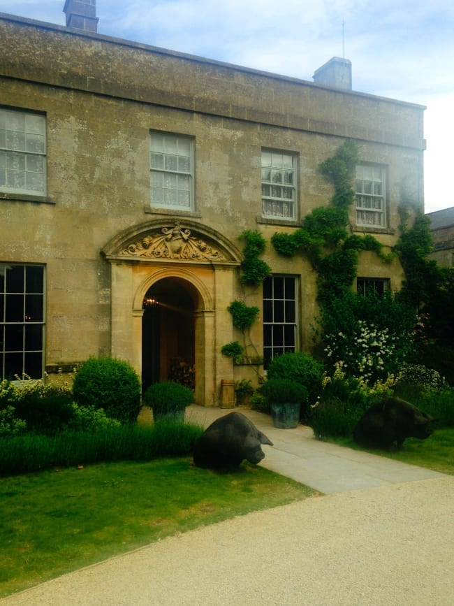 The Pig at Bath hotel