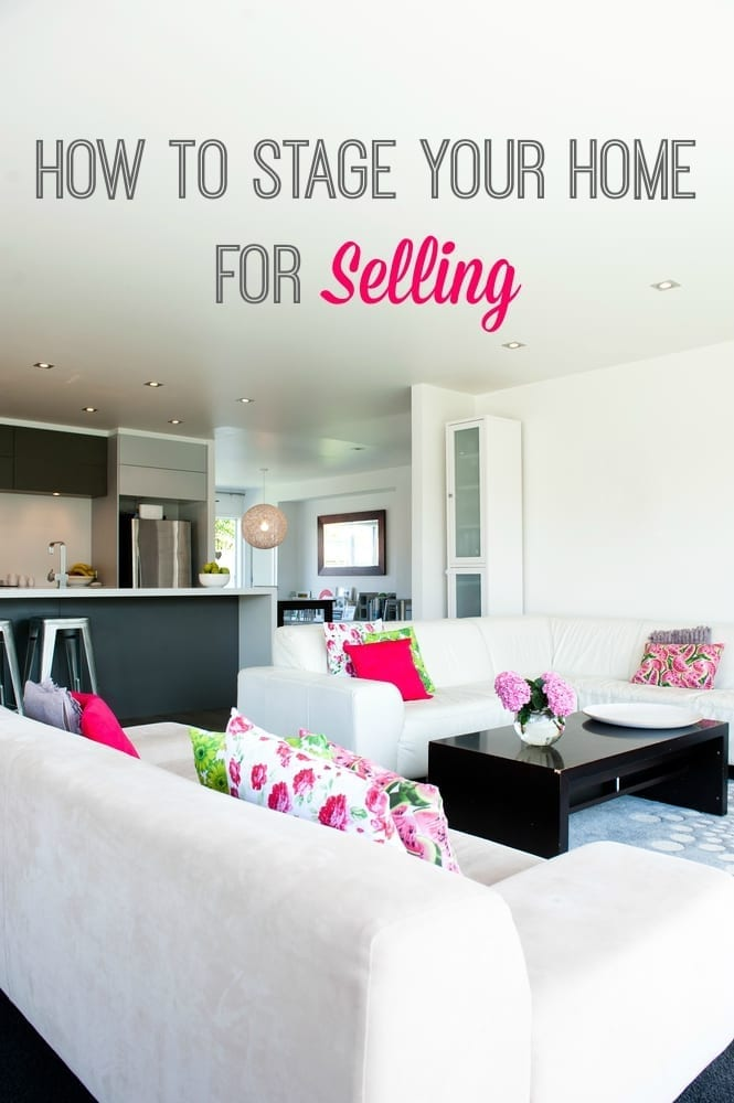 How to stage your home for selling