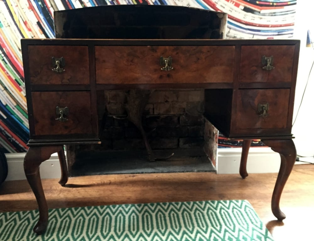Original dressing table