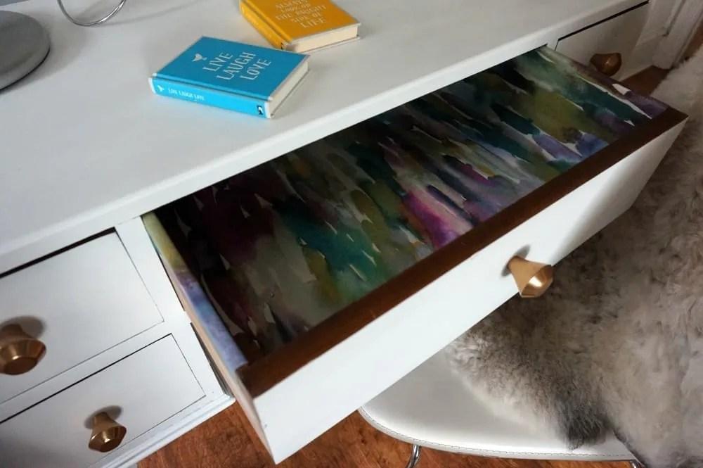 dressing table drawer voyage wallpaper