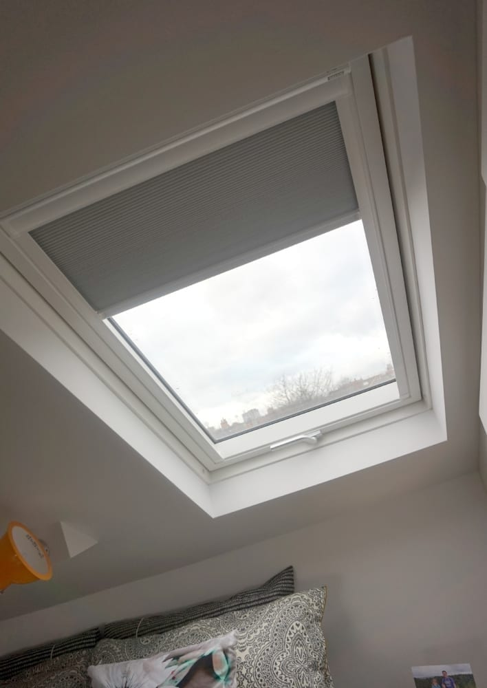 Luxaflex Duette Velux window blind
