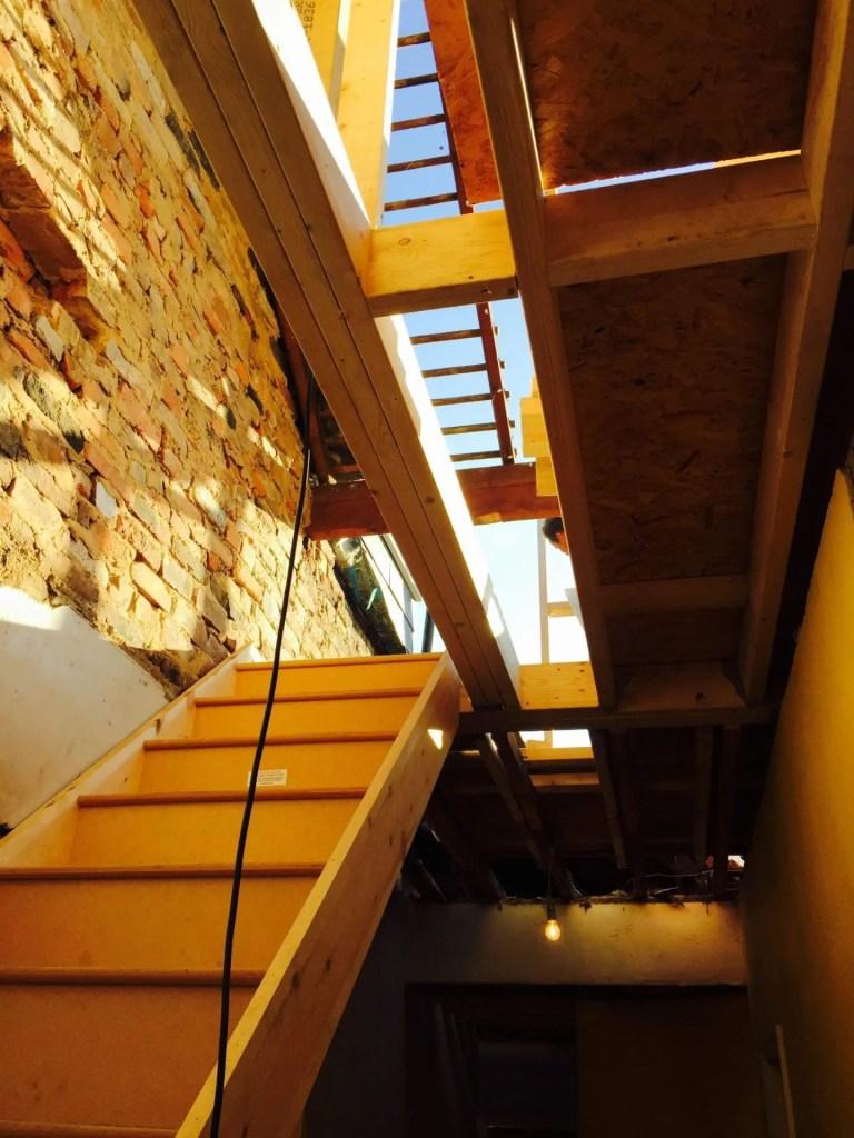 Attic roof
