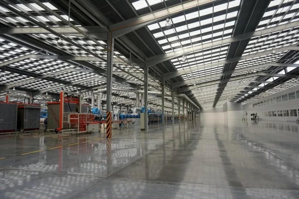 Porcelanosa factory