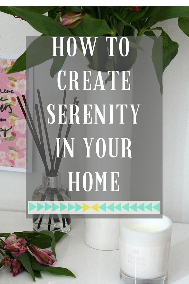 Creating a peaceful, calming home isn't easy, but fragrance and a good declutttering can really help. Click through to find out more on how these tips will help you create a home full of serenity and tranquillity.