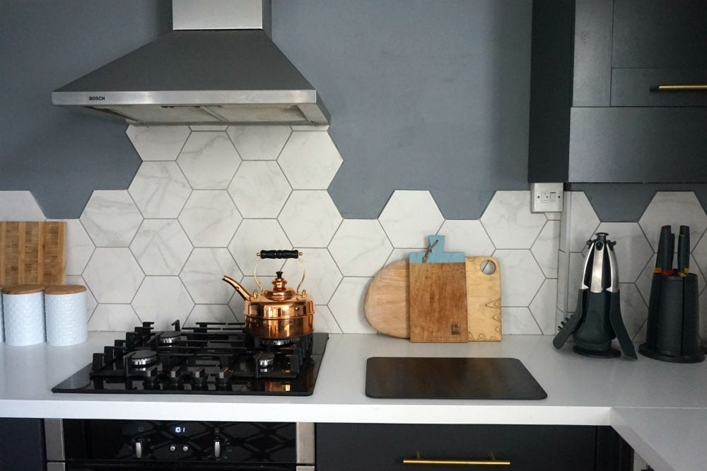 Hexagonal Wall Tiles from British Ceramic Tile: Kitchen ...