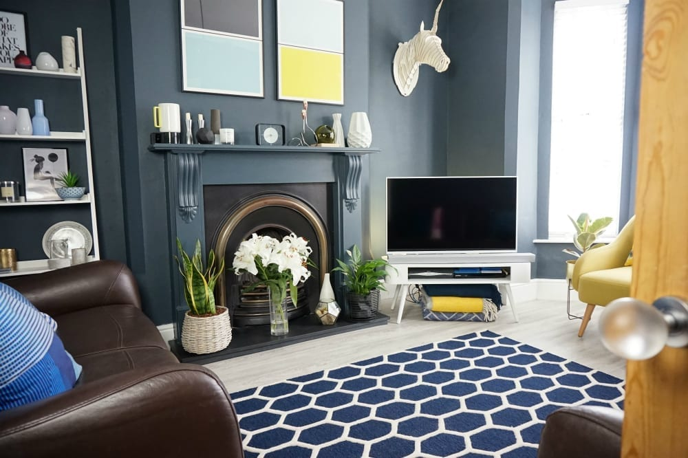 So Lets Discuss How You Can Use A Beautiful Piece Like The Frith Rug To Achieve Layered Look In Your Living Room Why Not Pin Now Case Want