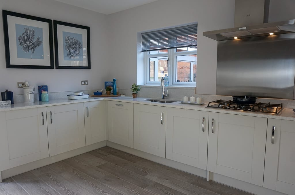 Miller Homes kitchen