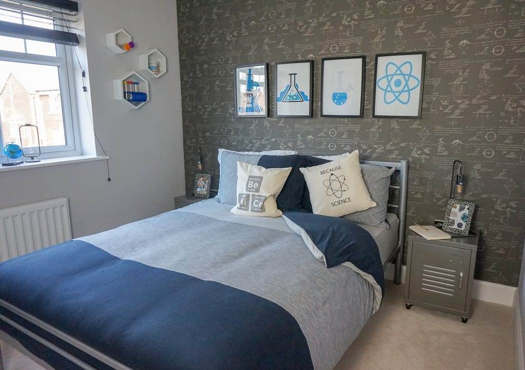 Miller Homes kids bedroom