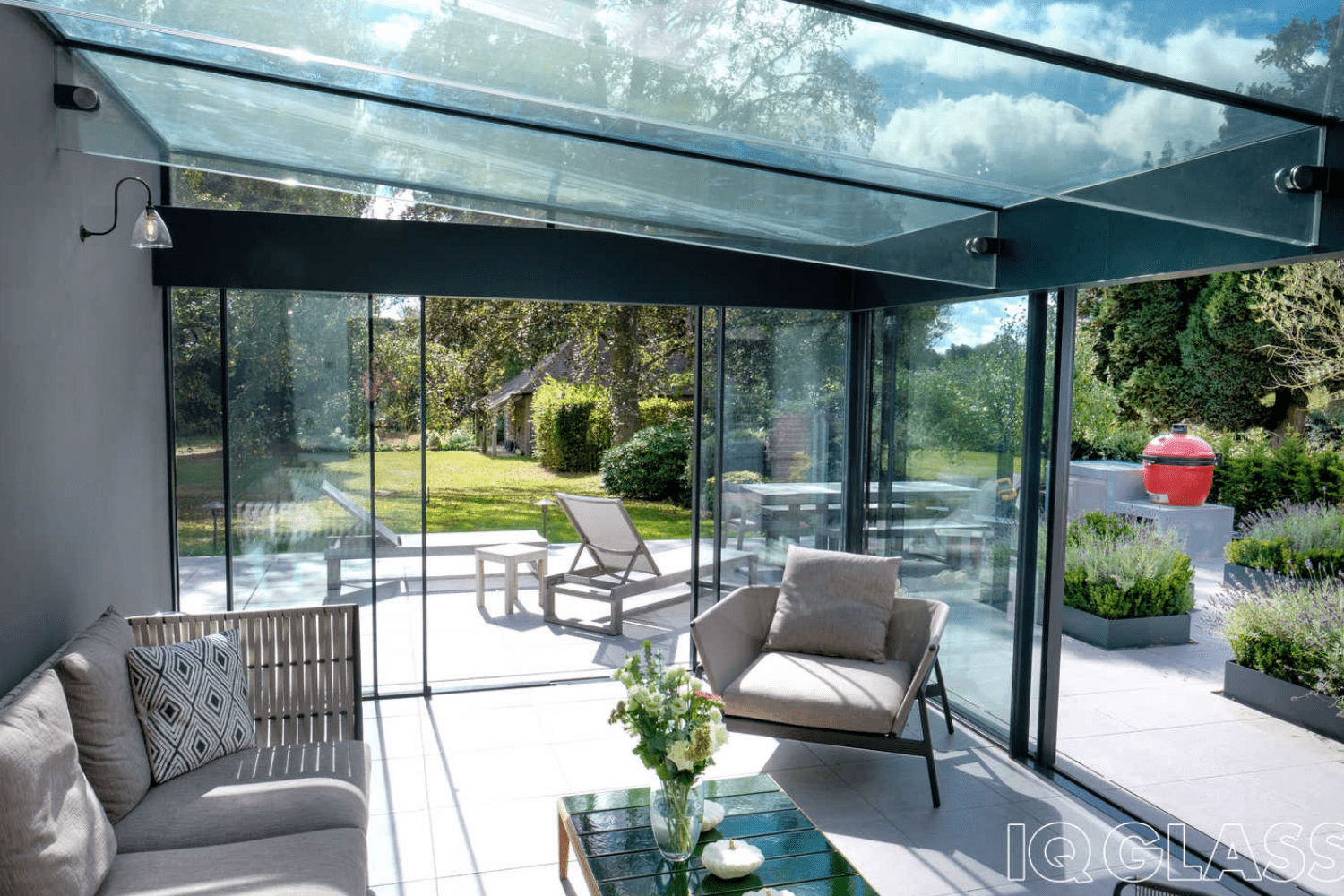 glass conservatory