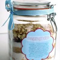 Regalos para tus invitados: galletas de arándanos y chocolate blanco