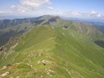 5. участниците по тревистото било на Балкана около връх Г.Купен